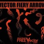 Горящие стрелки в векторе