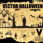 Рисунок в векторе  Хэллоуин