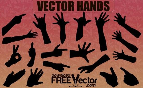 жесты, силуэт руки, ок, силуэт в векторе, EPS