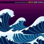 Рисунок волны. Волна в векторе.