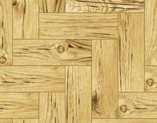 Деревянный пол, паркет, древесина в векторе. Фон.