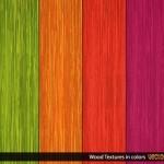Текстуры цветное дерево в векторе
